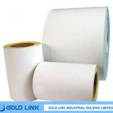 Papel de alto brillo / amarillo de liberación del papel