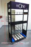 Soporte de visualización de múltiples funciones del metal del almacén de la alta calidad