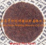Flux Hj431 pour Q345, 16mn, Q390, soudure 15mnv en acier