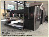 Máquina de entalho e cortando da impressão ondulada automática de 2 cores