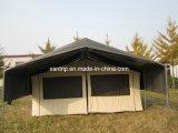 Deluxes Zelt der Safari-Cst2002 mit doppelten Dächern