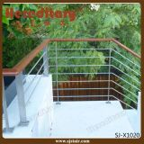 Barandilla del acero inoxidable del SUS 304# para el balcón/la cubierta (SJ-X1020)