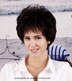 Свободный курчавый короткий синтетический парик женщин волос