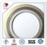 """Gewundene Wunddichtung 4 """" 150# ASME B16.20 Ss316/Graphite mit CS äußeren Ring-Material-Dichtungen"""