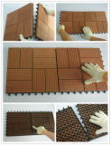 Composición WPC Deck Textura Teja De Madera Al Aire Libre