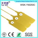 Do amarelo plástico da manufatura da fábrica do selo de Shandong selo plástico com injeção do metal
