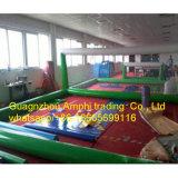 Het populaire Hof van het Volleyball van het Water van het Speelgoed van de Sport van het Spel van het Team Opblaasbare