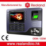 지문 시간 출석 시스템 생물 측정 RFID 카드