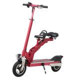 Portable 아이의 시트를 가진 8 인치 소형 폴딩 전기 자전거