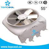 ventilador del ciclón de la recirculación de 1.5HP 3pH Vhv 55inch para el granero de lechería