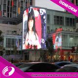 P8 LED impermeable al aire libre que hace publicidad de la cartelera