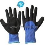 Windel-Zwischenlage thermischer PVC-Handschuh-Winter-Sicherheits-Arbeits-Handschuh