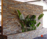 Yellow en bois Quartzite/Slate Culture Stone pour Wall