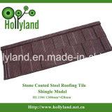 Telha de telhado da folha de metal com a pedra revestida (tipo da telha)