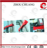 Equipo fácil de utilizar y de seguridad para el cierre de la válvula de mariposa del candado