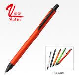Stylo bille promotionnel de Clik de crayon lecteur en métal sur la vente