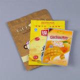 Раговорного жанра прокатанный мешок еды с замком застежка-молнии/пластичным мешком упаковки для заедк (ML-E31)