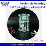 ADN ordonnançant la cellule d'électrophorèse avec la qualité fiable