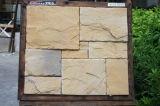 建築材料の壁のタイルののどの石塀のベニヤ