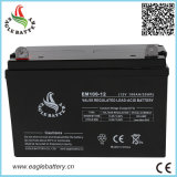 bateria solar acidificada ao chumbo livre da manutenção de 12V 100ah para o UPS