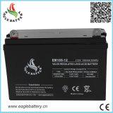 bateria solar acidificada ao chumbo recarregável de 12V 100ah para o UPS