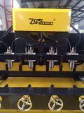 Router do CNC de 5 linhas centrais, máquina de gravura giratória de 8 eixos