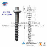 Kundenspezifisches Railway Timber Screw, Drive Screw, Coach Screw, Manufacturers für Steel Rail Fastening