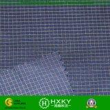 Tissu teint de fils de polyesters de Ripstop pour la garniture ou la chemise de vêtements d'homme