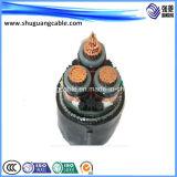 XLPE aisló/cable acorazado galvanizado de /Power del alambre de acero