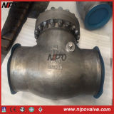 Bolt Bonnet Cast Steel Butt Welded Swing Check Valve
