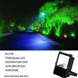 IP65 imprägniern 30W RGB LED Flut-Beleuchtung