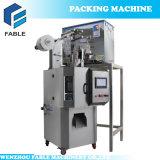 Machine à emballer automatique de sachet de sachet à thé de triangle avec quatre têtes