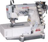 Agujas de alta velocidad de la máquina cuatro de Sittch del dispositivo de seguridad y seis cuerdas de rosca