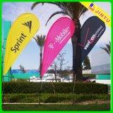 Kundenspezifisches Highquality 2m Polyester amerikanisches Beach Flag (JTAMY-2015110601)