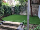 Haltbares PET und pp.-künstliches Gras für Garten (L40-K2)