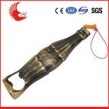 Abridores de frasco clássicos da cerveja da corrente chave do metal
