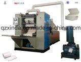 Maquinaria de conversão de dobramento do papel V de toalha de mão