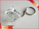 Выдвиженческий металл Keychain резиновый кожаный Keychain Keychain ткани