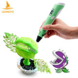 Hot 3D Imprimante Stylo Pen avec ABS Filament Arts LED Imprimante 3D Pen Lix for Kids