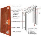 Portas de madeira da garagem do bom preço