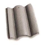 Tipo azulejo de la sacudida de azotea revestido de la piedra de aluminio del color
