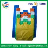 Die-Cut 기워진 부대, 연약한 루프 운반대 부대를 위한 비닐 봉투/Polybag