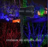 Luz de Natal ao ar livre do duende do Firefly do laser IP65 do jardim com certificado