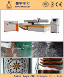 Floor Medallion Design/Marble, Granite Cutting를 위한 Ay3018u 6000psi 5 축선 CNC Water Jet Stone Cutting Machine