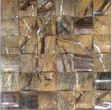 Pedra da natureza, mosaico de mármore, Onyx para a parede do material de construção da casa e telha de assoalho