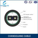 Gjxfha cable de fibra óptica China de fábrica de suministro de iluminación FTTH Arco-Tipo cable de bajada para los conductos de cable de fibra óptica con la chaqueta de protección externo