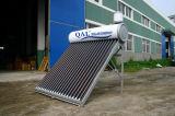 Colorear el sistema de energía doméstico solar compacto de acero del calentador de agua caliente