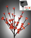 庭の装飾として太陽花の小枝の木LEDの棒ライト