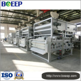 Machine de asséchage de cambouis de filtre-presse de courroie de traitement des eaux résiduaires de transformation des produits alimentaires