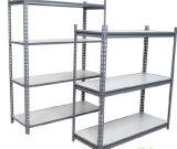 Racking scanalato di bassa potenza di memoria di angolo del magazzino d'acciaio di alta qualità